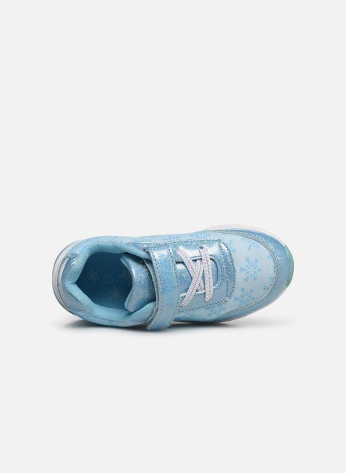 Sneakers Frozen Groseille Blauw links