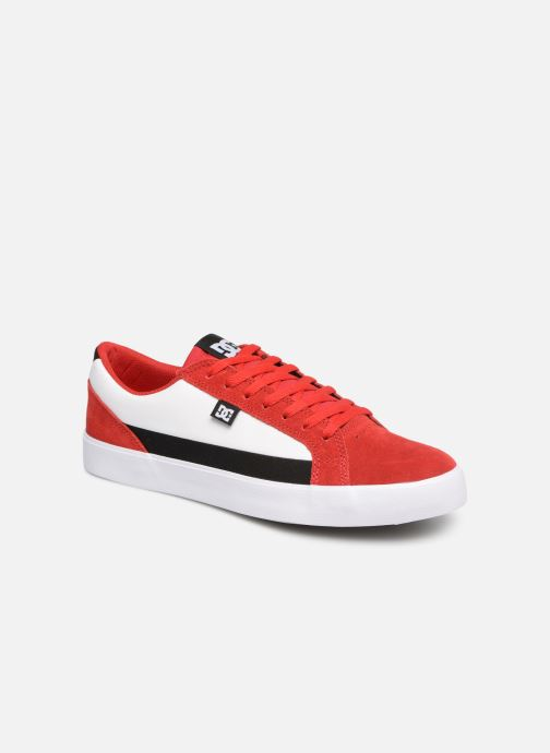 Trainers DC Shoes Lynnfield Red Red detailed view/ Pair view