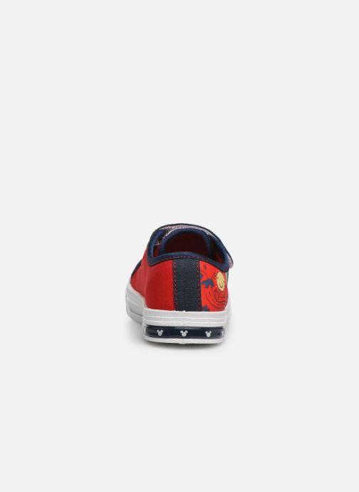 Sneaker Mickey Mouse Neron rot ansicht von rechts