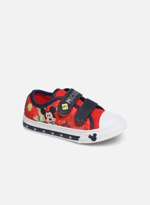 Baskets Mickey Mouse Neron Rouge vue détail/paire