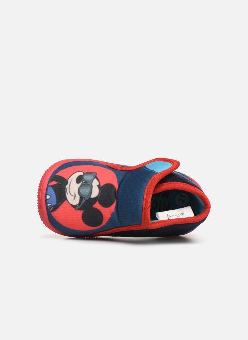 Pantoffels Mickey Saturnin Blauw links