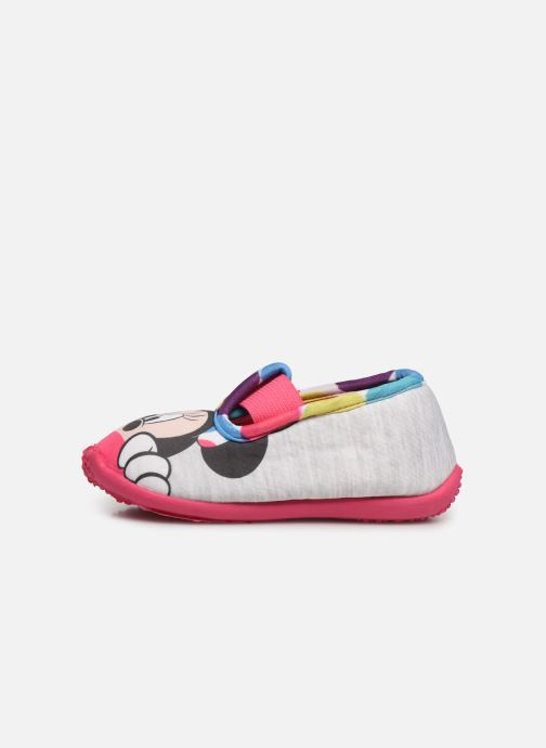 Chaussons Mickey Mouse Soam Gris vue face