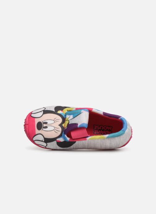 Slippers Mickey Soam Grey view from the left