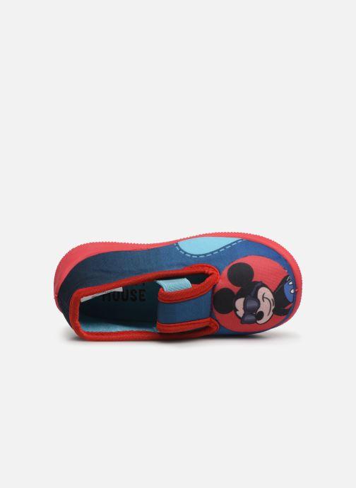 Chaussons Mickey Soam Bleu vue gauche