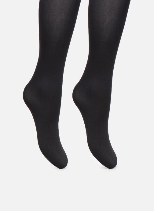 Chaussettes et collants Dim Collant MY EASY Opaque 50D Lot de 2 Noir vue portées chaussures