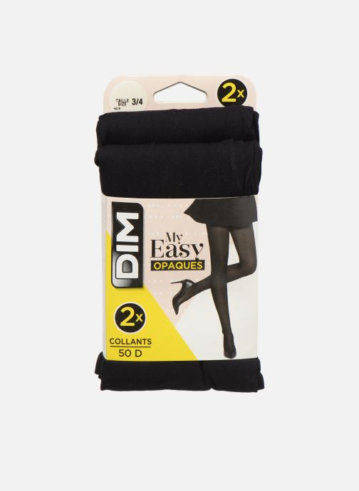 Socken & Strumpfhosen Dim Collant MY EASY Opaque 50D Lot de 2 schwarz detaillierte ansicht/modell