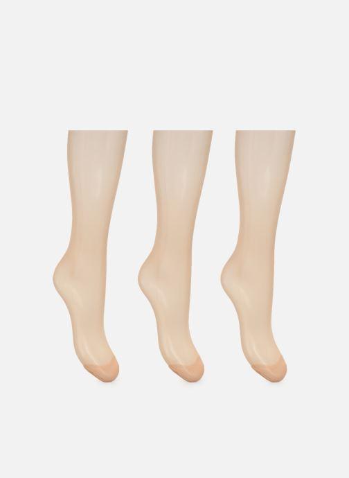 Sokken en panty's Dim Collant MY EASY Transparent 15D Lot de 3 Beige model