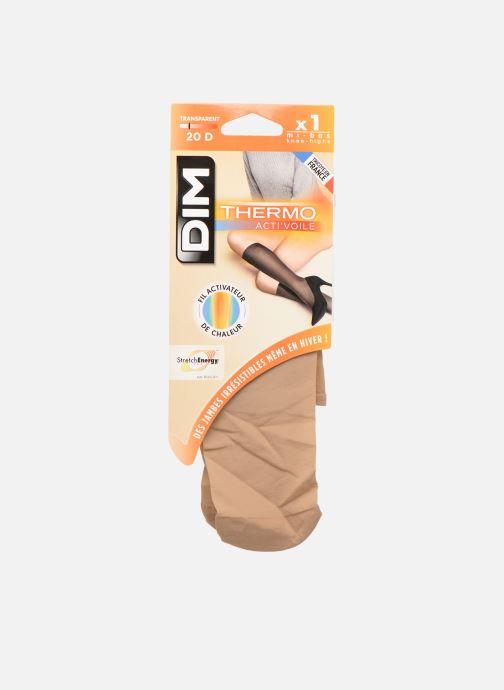 Socken & Strumpfhosen Dim Mi-Bas THERMO ACTI'VOILE 20D beige detaillierte ansicht/modell