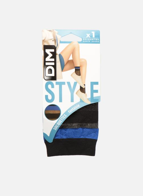 Sokken en panty's Dim Socquettes SPORTY LOOK 20D Zwart detail