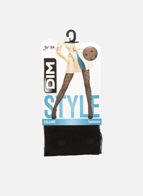 Sokken en panty's Dim Collant BIG DOT 20D Zwart detail