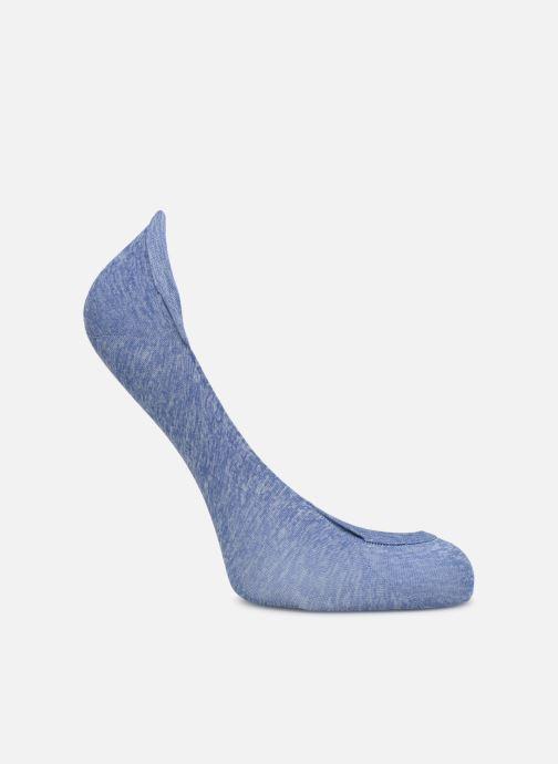Chaussettes et collants Dim Protège-Pieds Chiné Bleu vue portées chaussures