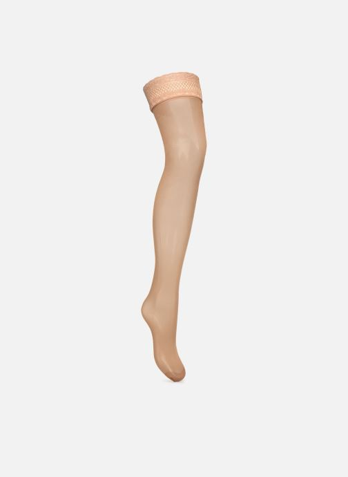 Chaussettes et collants Dim Dim Up Easy - Beauty Resist Transparent Beige vue face