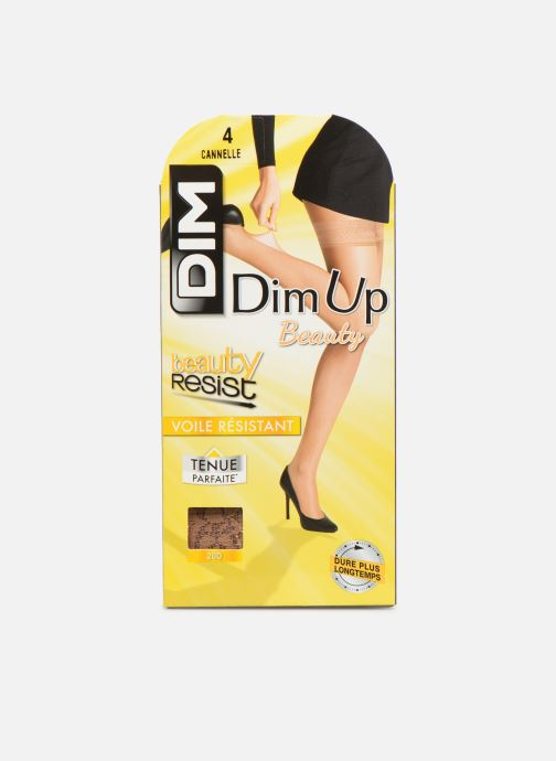 Chaussettes et collants Dim Dim Up Easy - Beauty Resist Transparent Beige vue détail/paire