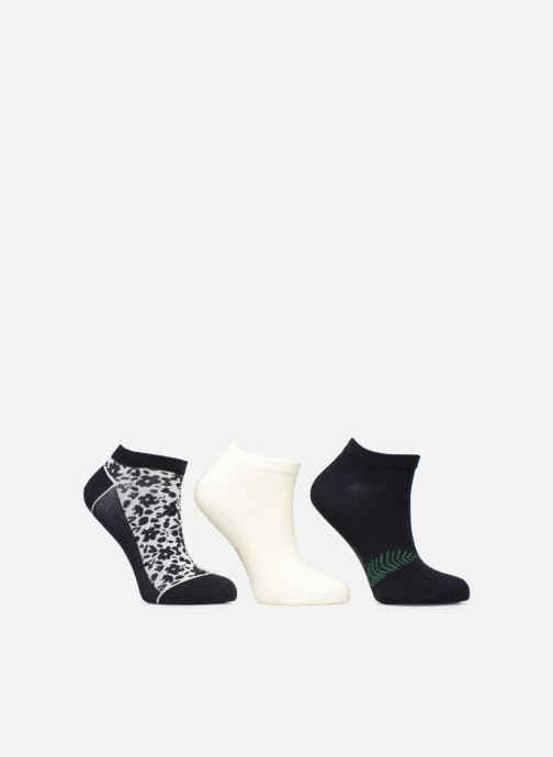 Socks & tights Dim Socquette courte Pockets Coton Liberty  Lot de 3 Blue model view