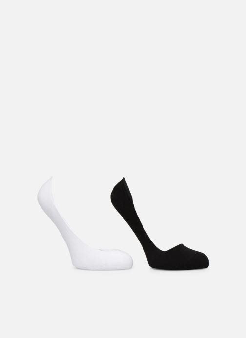 Sokken en panty's Dim Protège-pieds coton Lot de 2 Zwart model