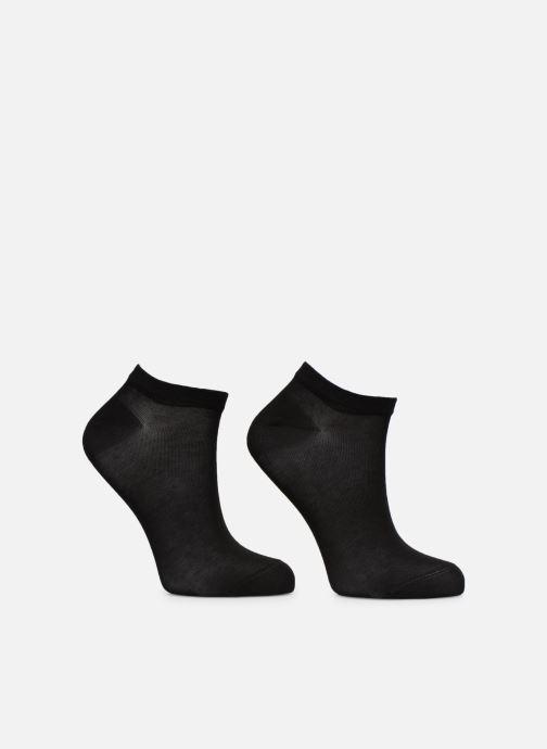 Sokken en panty's Dim Socquette Courte Light Coton Lot de 2 Zwart model
