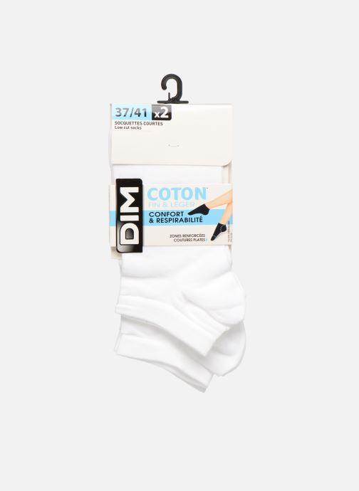 Socken & Strumpfhosen Dim Socquette Courte Light Coton Lot de 2 weiß detaillierte ansicht/modell