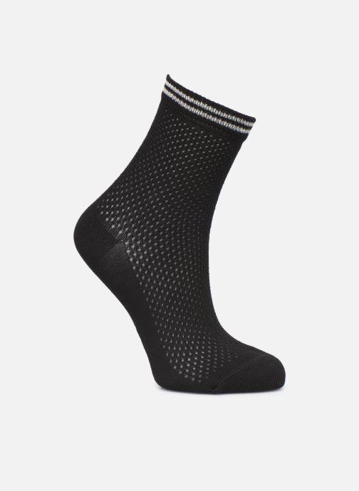 Sokken en panty's Dim Socquette Coton Style Effet de maillage Zwart detail