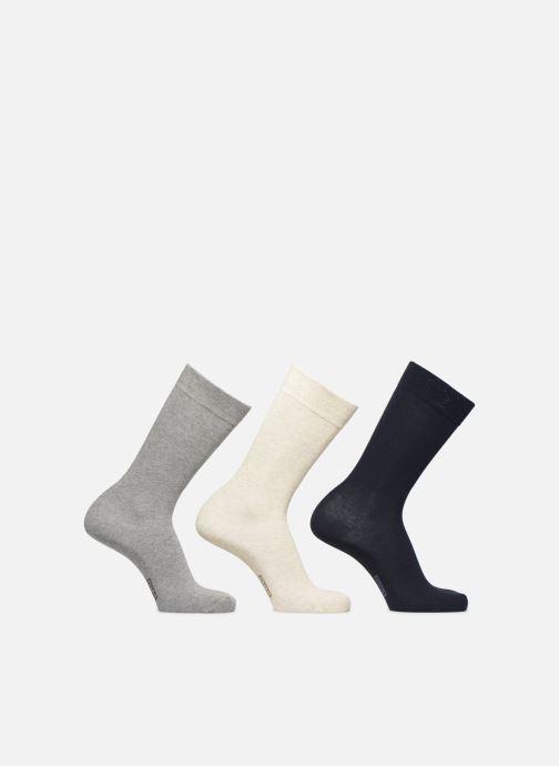 Sokken en panty's Dim Chaussette coton Lot de 3 Blauw detail