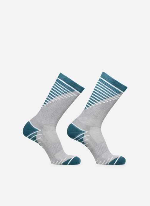 Chaussettes et collants Dim Chaussette Impact Moyen Lot de 2 Gris vue portées chaussures