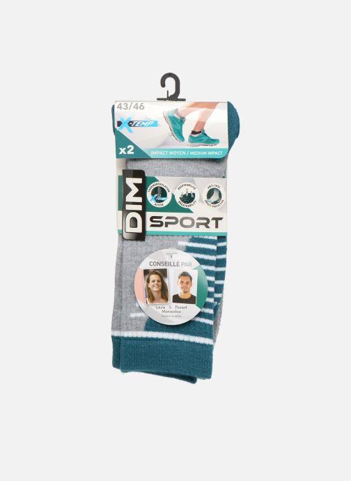 Sokken en panty's Dim Chaussette Impact Moyen Lot de 2 Grijs detail