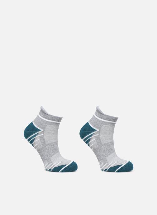 Chaussettes et collants Dim Socquette Courte Impact Moyen Lot de 2 Gris vue détail/paire