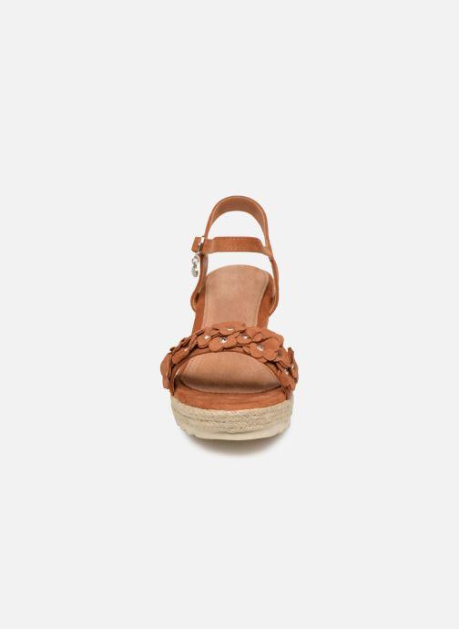 Espadrilles Xti 48943 Marron vue portées chaussures