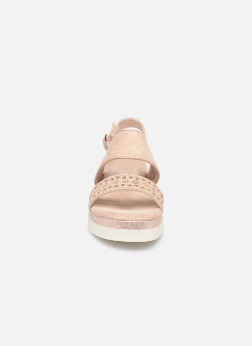 Sandales et nu-pieds Xti 49004 Beige vue portées chaussures