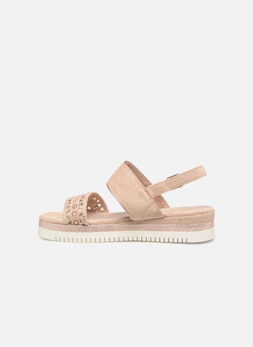 Sandales et nu-pieds Xti 49004 Beige vue face