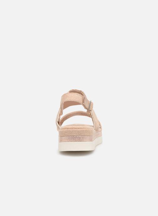 Sandales et nu-pieds Xti 49004 Beige vue droite