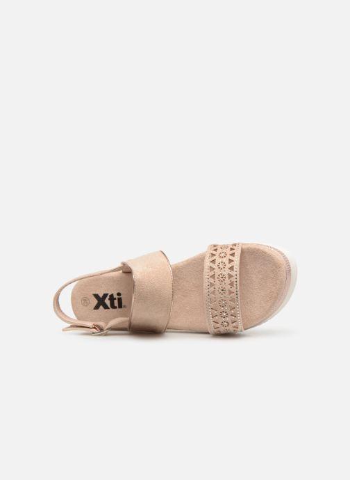 Sandales et nu-pieds Xti 49004 Beige vue gauche