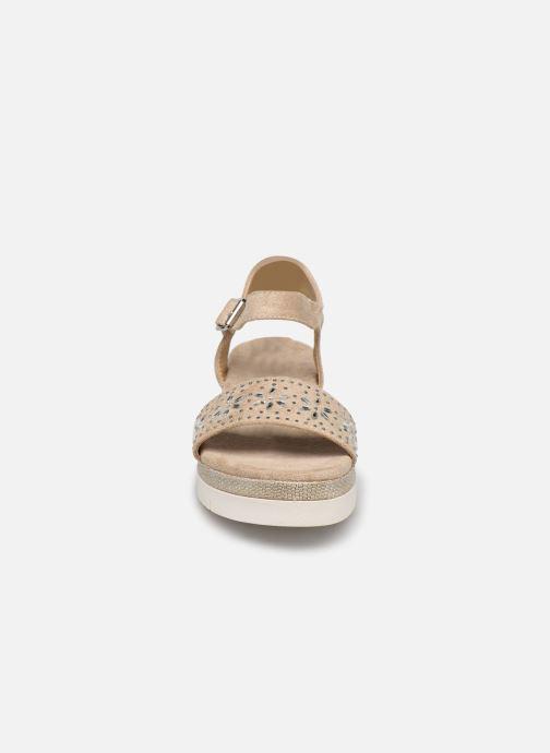 Sandales et nu-pieds Xti 49007 Beige vue portées chaussures