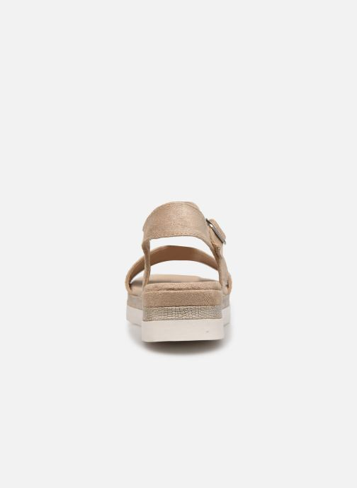 Sandals Xti 49007 Beige view from the right