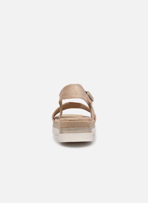 Sandales et nu-pieds Xti 49007 Beige vue droite