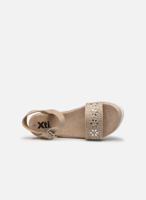 Sandales et nu-pieds Xti 49007 Beige vue gauche