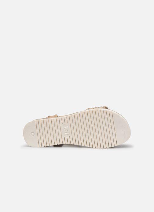 Sandales et nu-pieds Xti 49007 Beige vue haut