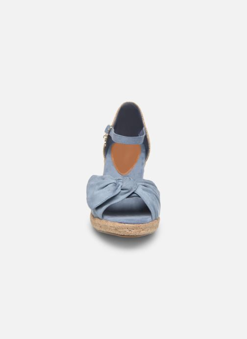 Espadrilles Xti 49105 Bleu vue portées chaussures