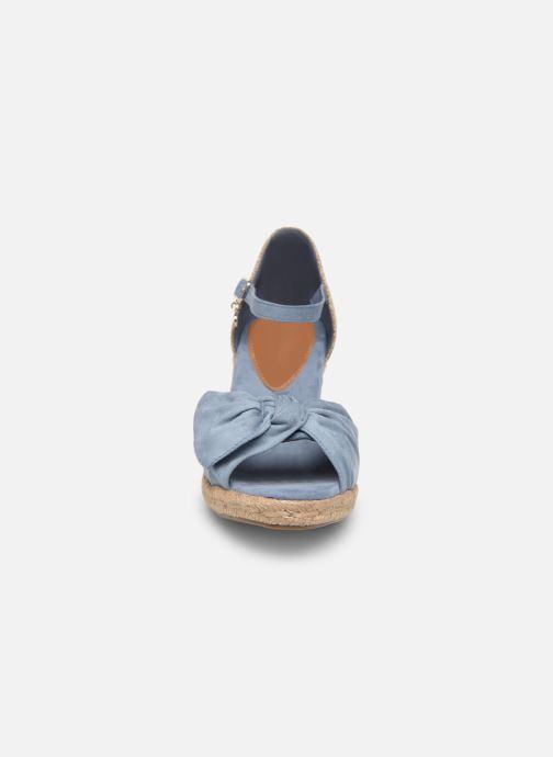 Scarpe di corda Xti 49105 Azzurro modello indossato