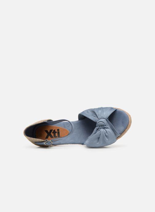 Espadrilles Xti 49105 Bleu vue gauche