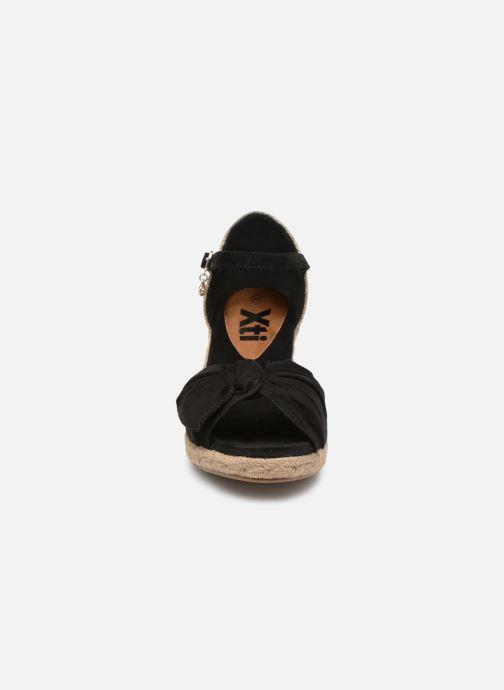 Espadrilles Xti 49105 schwarz schuhe getragen