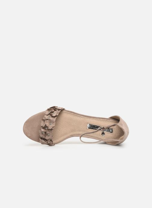 Sandalen Xti 32032 Beige links
