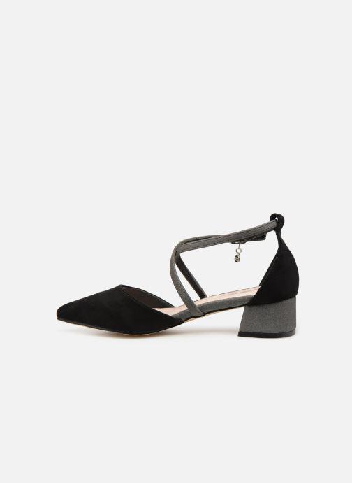 Sandalen Xti 32094 schwarz ansicht von vorne