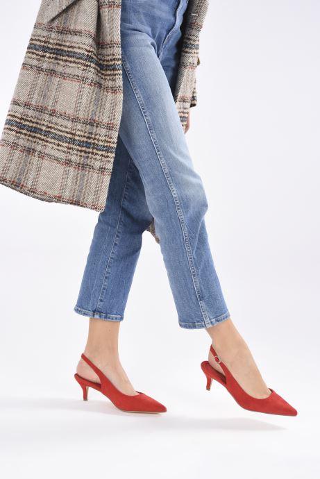 Zapatos de tacón Xti 35018 Rojo vista de abajo