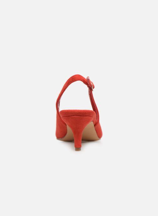 Zapatos de tacón Xti 35018 Rojo vista lateral derecha