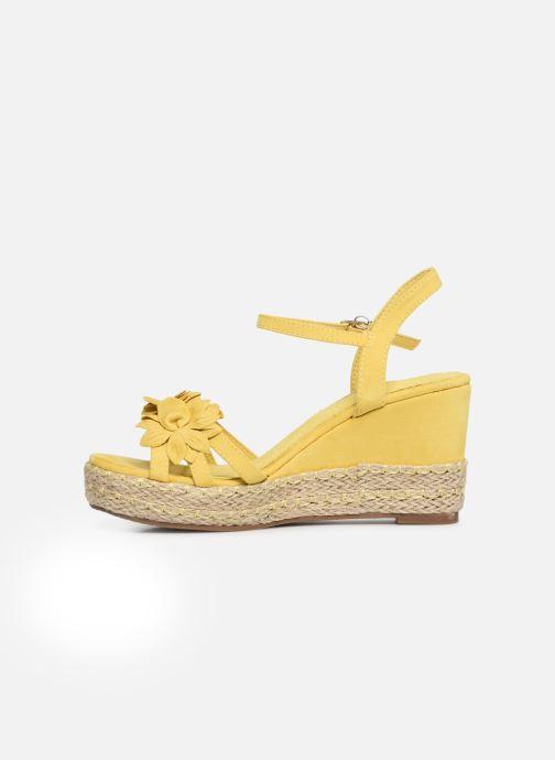 Sandales et nu-pieds Xti 35040 Jaune vue face