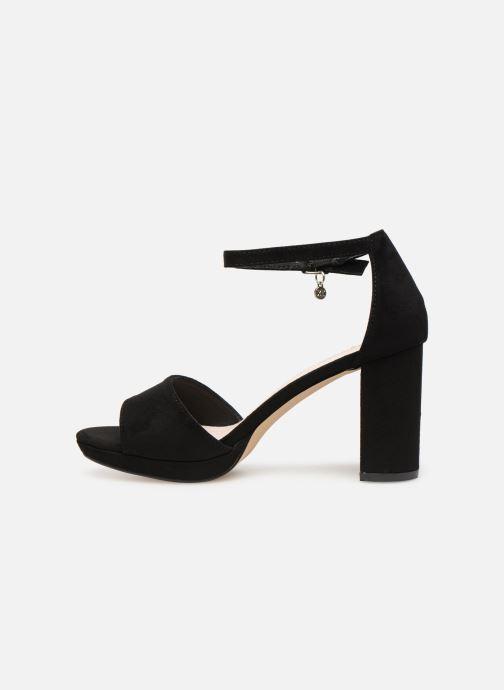 Sandales et nu-pieds Xti 35047 Noir vue face