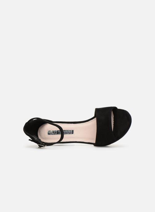 Sandales et nu-pieds Xti 35047 Noir vue gauche