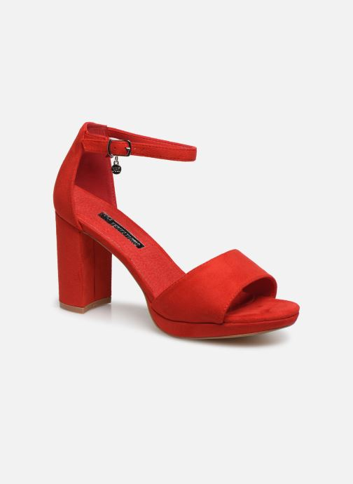 Sandals Xti 35047 Red detailed view/ Pair view