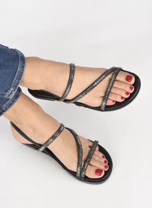 Sandales et nu-pieds Xti 48818 Noir vue bas / vue portée sac