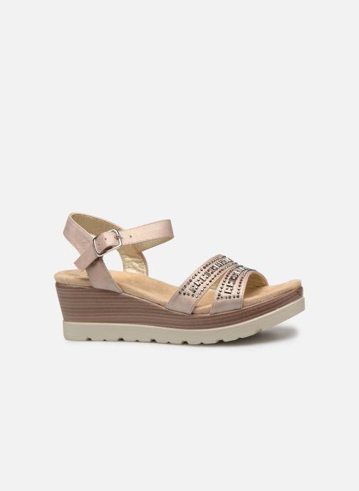 Sandales et nu-pieds Xti 48860 Beige vue derrière